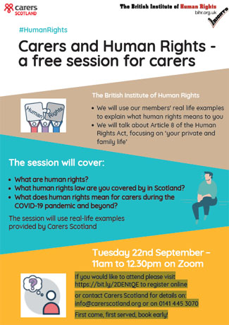 Carers and Human Rights