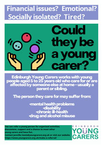 Could they be a young carer?